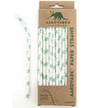 Aardvark Biodegradable Paper Straws Sea Turtle