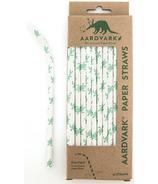 Aardvark Biodegradable Paper Straws Sea Turtle
