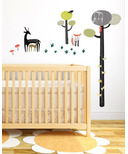 Wee Gallery Growth Chart Wall Graphics Quiet Forest