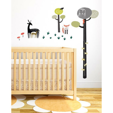 Buy Wee Gallery Growth Chart Wall Graphics Quiet Forest From Canada