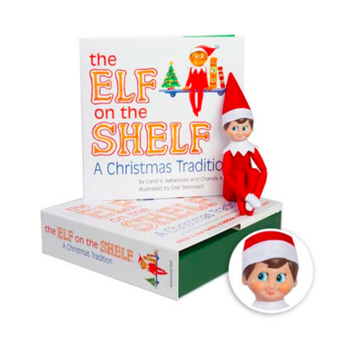 Elf on the Shelf A Christmas Tradition Boy Scout