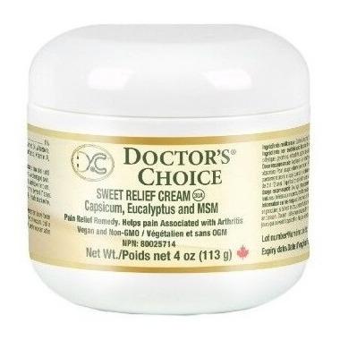 Doctor\'s Choice Sweet Relief MSM Cream