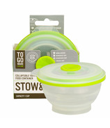 To-Go Ware Stow & Go Collapsible Container Small Green