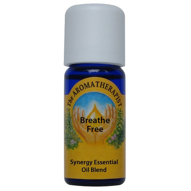 The Aromatherapist Breathe Free Essential Oil Blend