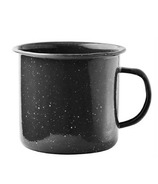 Asobu Happy Camper Stainless Steel Mug Black