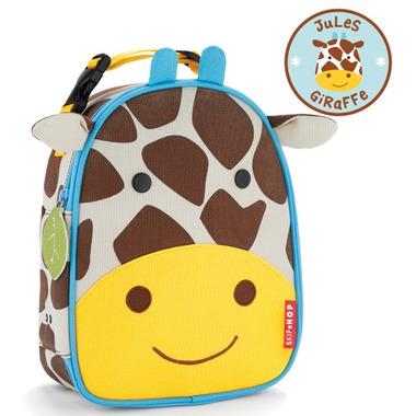 Skip Hop Zoo Lunchies Insulated Lunch Bag Giraffe Design