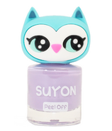 Suyon Nail Polish Awesome Owlia Purple