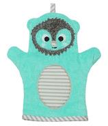 ZOOCCHINI Baby Snow Terry Bath Mitt Harriet the Hedgehog