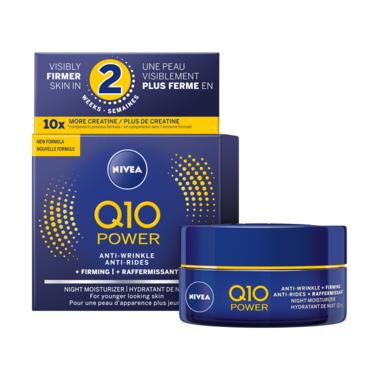 Nivea Q10 Power Anti-Wrinkle and Firming Night Moisturizer