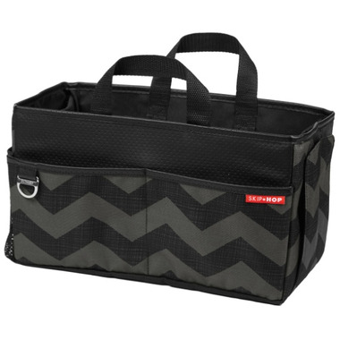 Skip Hop Style Driven Car Storage Box Tonal Chevron