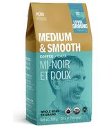 Level Ground Peru Medium & Smooth Whole Bean Coffee