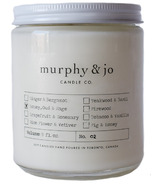 Murphy & Jo Candle Co. Soy Candle Honey, Oud & Sage