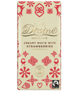 Divine Chocolate Creamy White with Strawberries