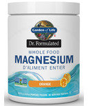 Garden of Life Dr Formulated Whole Food Magnesium Orange