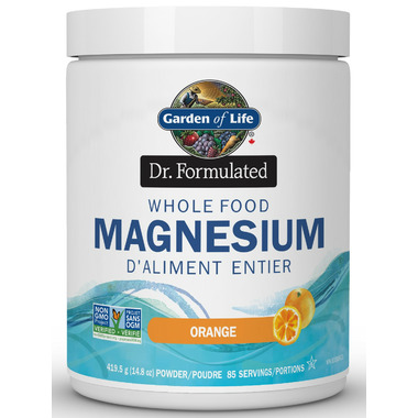 Garden of Life Dr Formulated Whole Food Magnesium Orange