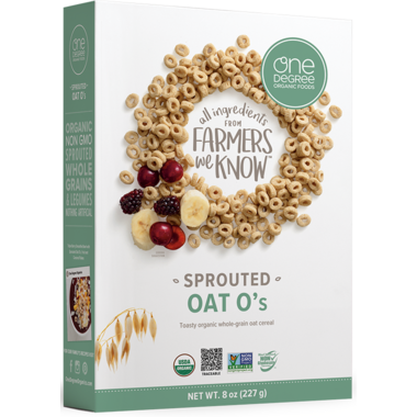 One Degree Oat O\'s Cereal
