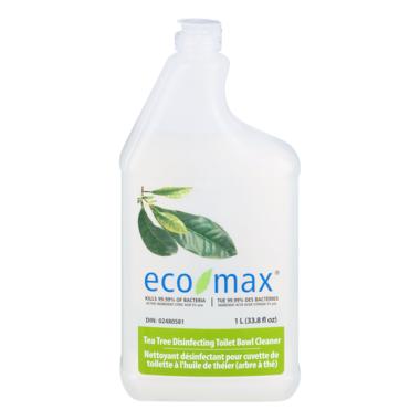 eco-max Tea Tree Disinfecting Toilet Bowl Cleaner