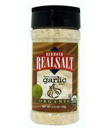 Redmond Real Salt Organic Garlic Seasoning Salt