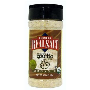 Redmond Real Salt Organic Garlic Seasoning Salt