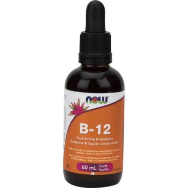 NOW Foods B-12 Fast Acting B Complex Liquid