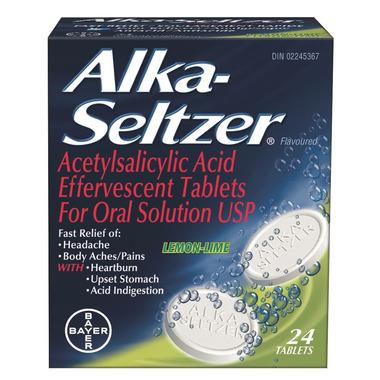 Alka-Seltzer Lemon Lime