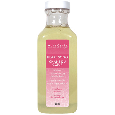 Aura Cacia Aromatherapy Heart Song Bubble Bath