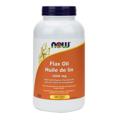 NOW Foods Flaxseed Oil