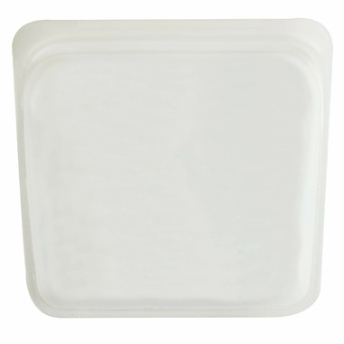 Stasher Reusable Storage Bag Clear