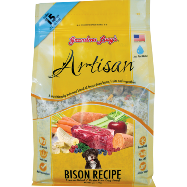 Grandma Lucy\'s Artisan Bioson Recipe Freeze-Dried Grain-Free Dog Food