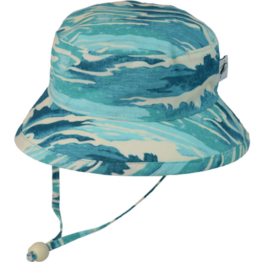 Puffin Gear Camp Hat Turquoise Surf