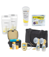 Medela Freestyle Hands Free Double Breast Pump Bundle