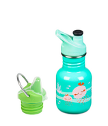 Klean Kanteen Jelly Fish Kid Classic Sport + Sippy Cap Bundle