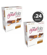 Love Good Fats Peanut Butter Chocolate Snack Bar Bundle