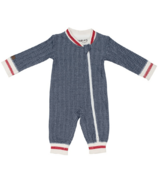 Juddlies Organic Cottage Playsuit Lake Blue