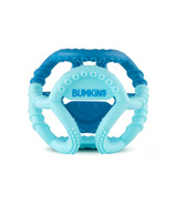 Bumkins Silicone Sensory Ball Teether Blue