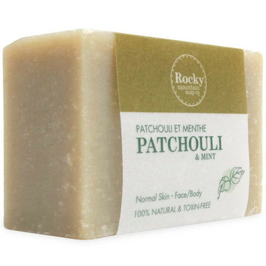 Rocky Mountain Soap Co. Patchouli & Mint Bar Soap