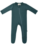 Kyte BABY Zippered Footie Emerald