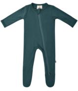 Kyte BABY Zippered Footie Emerald