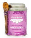 JusTea Loose Leaf Purple Tea Purple Jasmine