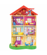Peppa's Lights and Sounds Family Home Playset