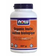 NOW Foods Organic Inulin Powder