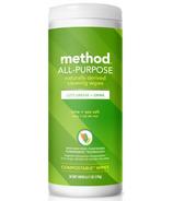Method All-Purpose Cleaning Wipes Lime+ Sea Salt