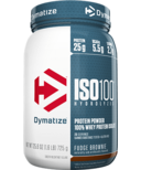 Dymatize Nutrition ISO100 Hydrolyzed Whey Protein Fudge Brownie