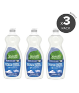 Seventh Generation Dish Liquid Free & Clear 3 Pack Bundle