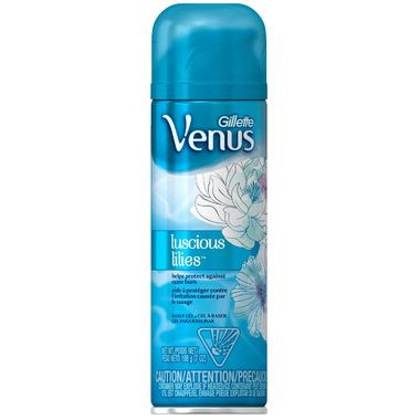 Gillette Venus Luscious Lilies Shave Gel