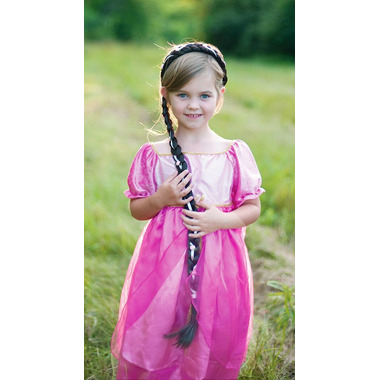 Great Pretenders Storybook Braid Headband Brown 28 Inches