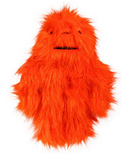 Hugglehounds Toy with Sole Small Orange Dog Toy