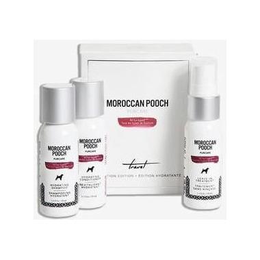 Moroccan Pooch The Essentials Travel Set
