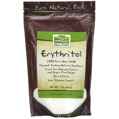 NOW Real Food 100% Pure Erythritol