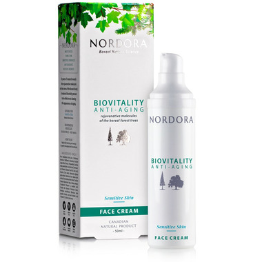 Nordora Biovitality Anti-Aging Sensitive Skin Face Cream